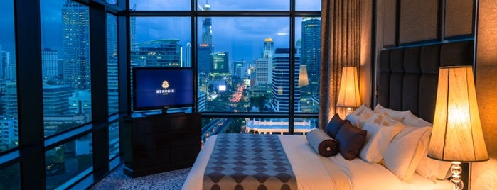 The St. Regis Bangkok is one of Hotel.