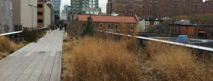 High Line is one of Modern architecture in nyc.