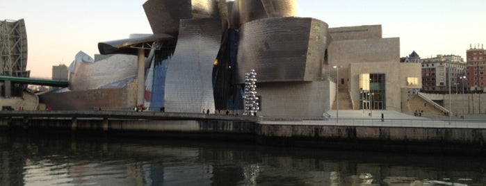 Guggenheim Museum is one of let's get Bilbao's badge (Spain) #4sqCities.