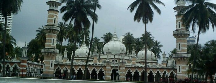 Masjid Jamek Kuala Lumpur is one of Cool KL.