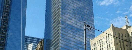 "American Express Tower is one of ""Be Robin Hood #121212 Concert"" @ New York!."
