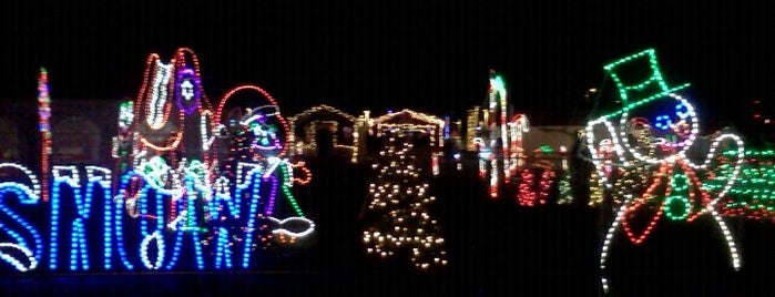 Newsday Holiday Lights Festival is one of Explore Long Island.