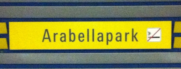 U Arabellapark is one of Munich And More.