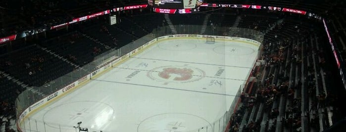 Scotiabank Saddledome is one of Sports Arena's.