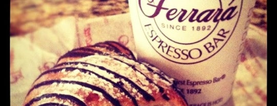 Ferrara Bakery & Cafe is one of Just desserts.