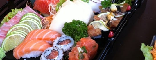 Taki Sushi is one of Cibele list.