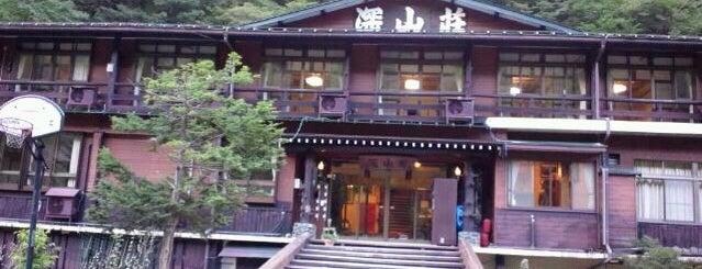 新穂高温泉 深山荘 is one of Hotel.