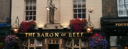 The Baron Of Beef is one of Must-visit Food or Drink in Cambridge.
