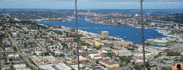 Space Needle: Observation Deck is one of Seattle Tour #VisitUs.