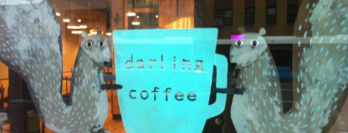 Darling Coffee is one of NY Espresso.