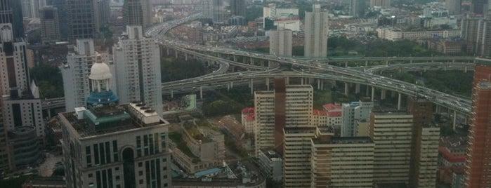 上海明天广场JW万豪酒店 JW Marriott Hotel Shanghai at Tomorrow Square is one of Beautiful Views.