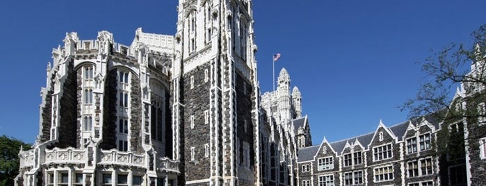 CCNY Shepard Hall is one of AIA (NYC - The Heights and The Harlems).