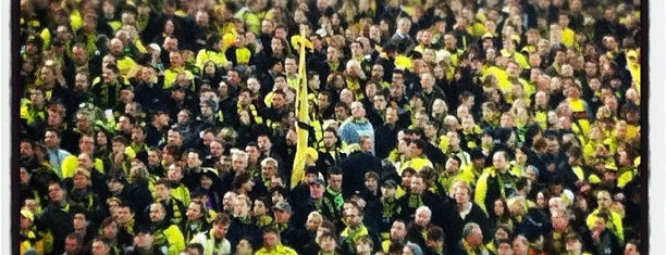 Signal Iduna Park is one of Best Stadiums.