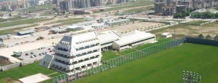 Bursaspor Özlüce Tesisleri is one of BURSASPOR 4sq.