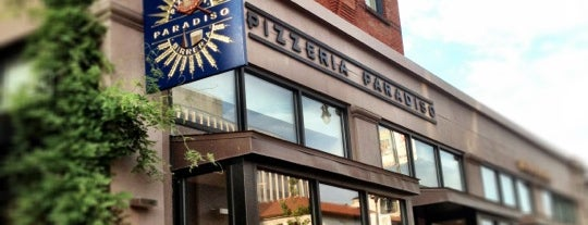 Pizzeria Paradiso is one of Favorite DC Restaurants.