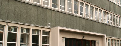 Edward Llwyd Building, Aberystwyth University is one of Penglais Campus.