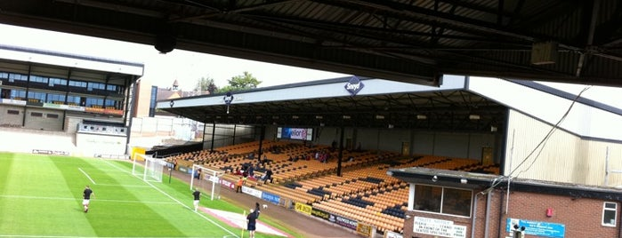 Vale Park is one of Football grounds visited.