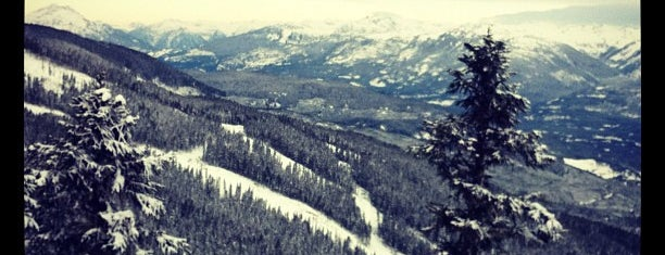 Whistler Blackcomb Mountains is one of Skigebiete.
