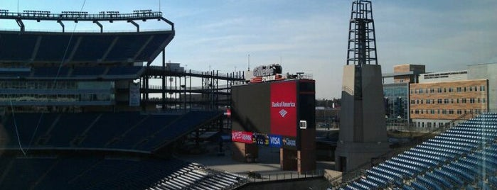 Gillette Stadium is one of MLS Stadiums.