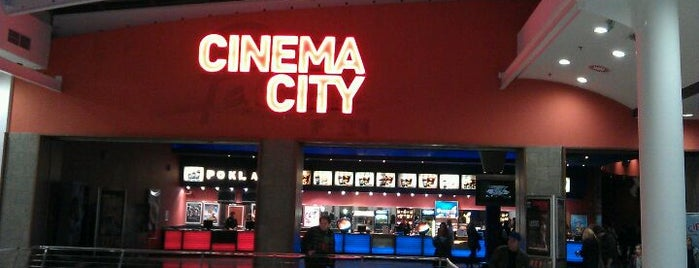 Cinema City is one of Kina v Praze.