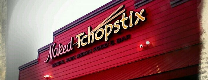 Naked Tchopstix is one of Foodie Favs.
