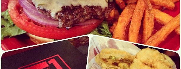 Square 1 Burgers is one of Princess' Tampa Hot Spots!.