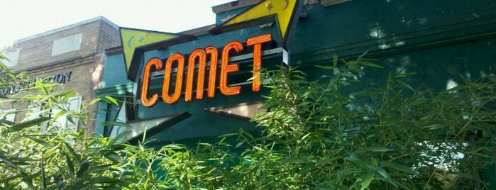 "Comet Ping Pong is one of ""Diners, Drive-Ins & Dives"" (Part 1, AL - KS)."