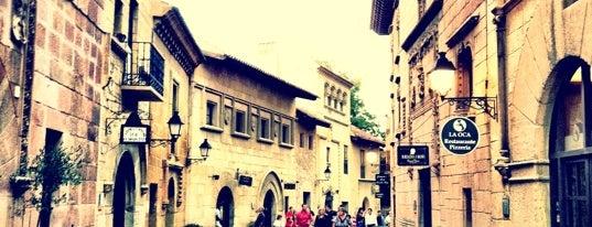 Poble Espanyol is one of Museus i monuments de Barcelona (gratis, o quasi).