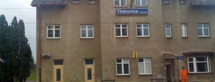 Žel. stanice Třebovice v Čechách is one of Železniční stanice ČR: Š-U (12/14).