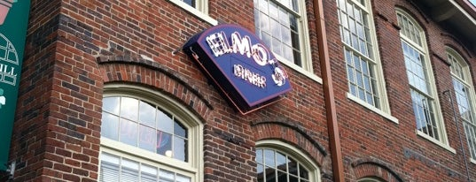 Elmo's Diner is one of Chapel hill favorites.
