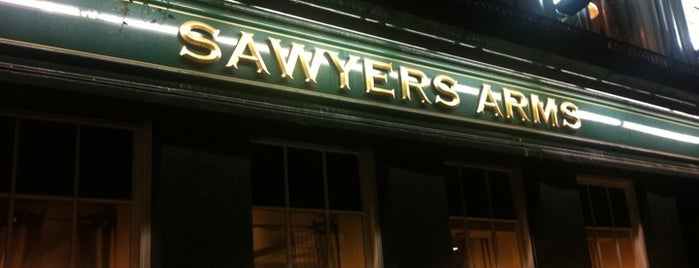 The Sawyers Arms is one of BMAG's Pubs.
