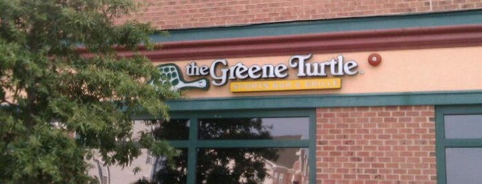 The Greene Turtle is one of 20 favorite restaurants.