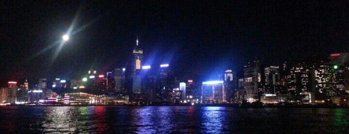 Star Ferry Pier (Tsim Sha Tsui) 天星渡輪碼頭(尖沙咀) is one of Markus's tips.