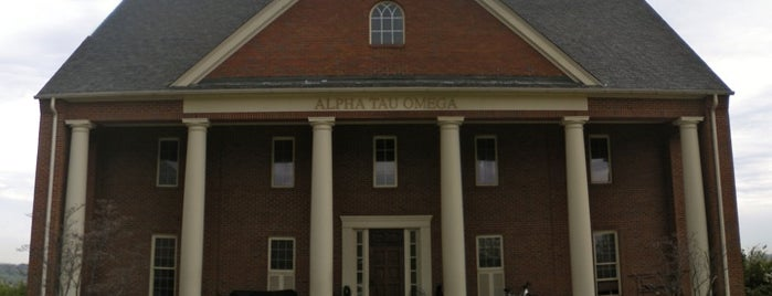 Alpha Tau Omega Fraternity at Birmingham Southern is one of Birmingham Southern.