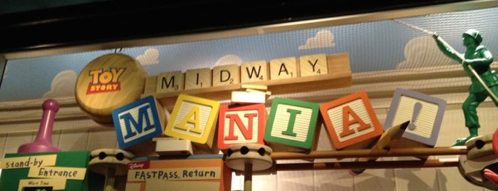 Toy Story Midway Mania is one of Florida Trip '12.