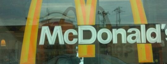 McDonald's is one of My spots.