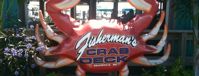 Fisherman's Crab Deck is one of Best of the Bay - Crab Houses of Maryland.