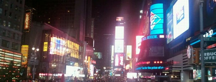 Times Square is one of Top 10 favorites places in New York.