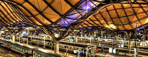 Southern Cross Station is one of Quintessential Melbourne.