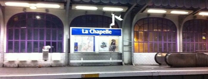 Métro La Chapelle [2] is one of Métro de Paris.