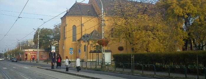 Templom tér (42, 68) is one of Pesti villamosmegállók.