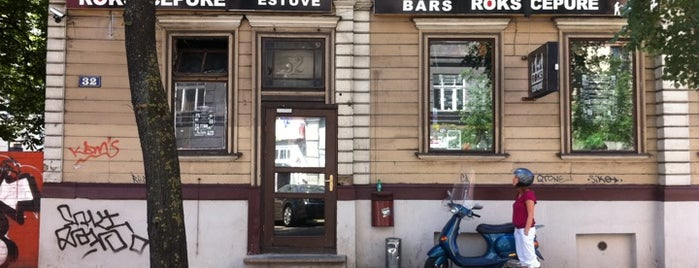 Roks Cepurē is one of Bars and Pubs in Riga.