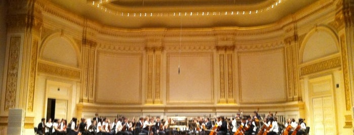 Carnegie Hall is one of New York City's Must-See Attractions.