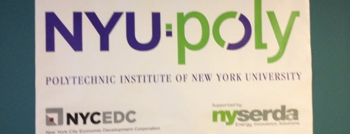 NYU-Poly Varick Street Incubator is one of Design & Internet NYC.