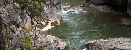 Maligne Canyon is one of Canada Favorites.