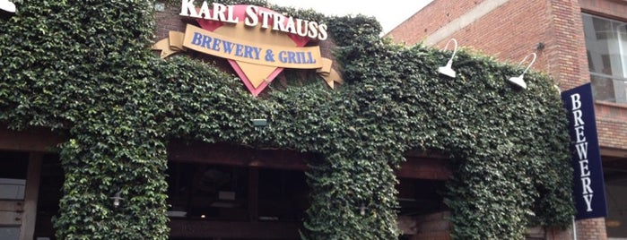 Karl Strauss Brewery & Restaurant is one of California To-Do List!.
