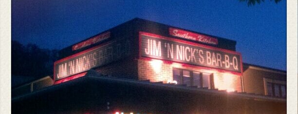 Jim 'N Nick's Bar-B-Q is one of North Ga chill spots.