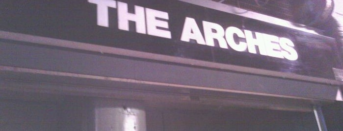 The Arches is one of Essential Glasgow visits.