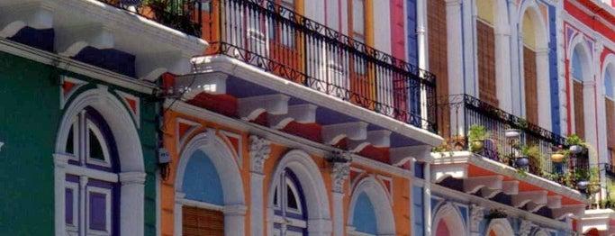 Barrio Reus is one of Montevideo City Badge - Mateína.