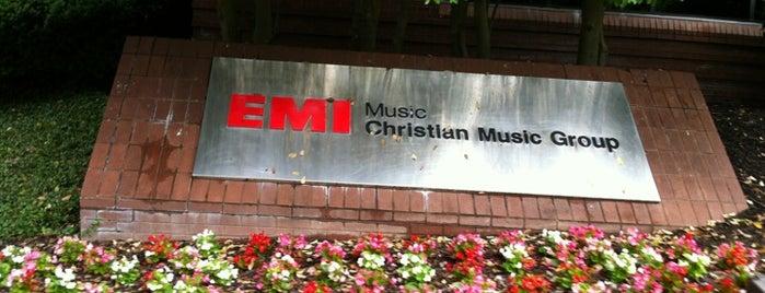 EMI CMG is one of Nashville.